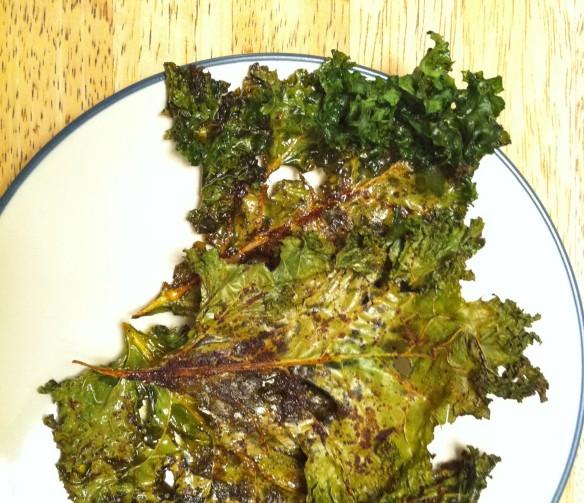 Smoky Kale Chips